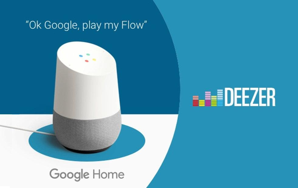 Deezer Google Home integration begins, coming to US soon
