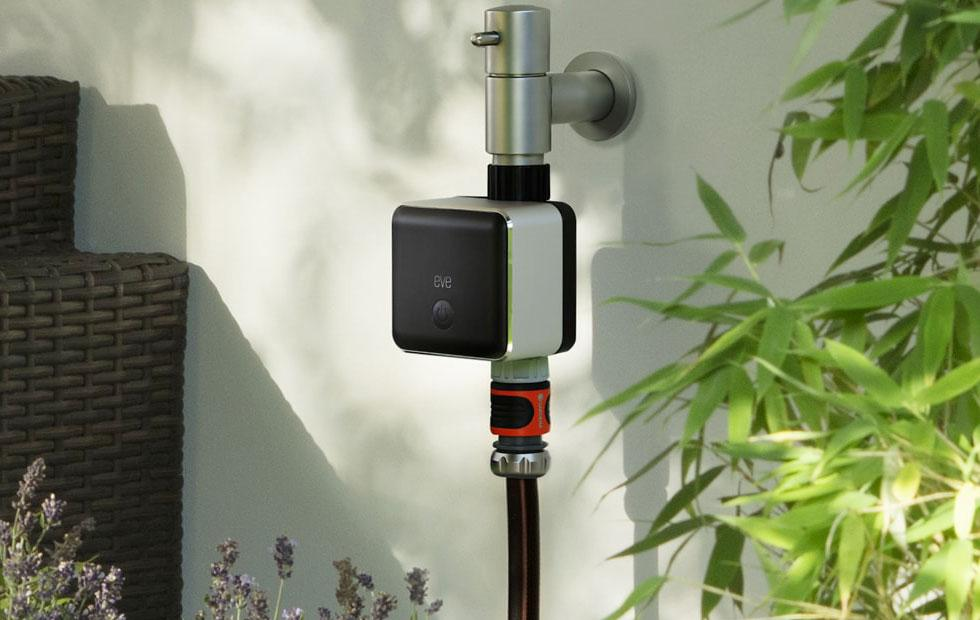 Elgato Eve Aqua lets you control your garden hose with Siri