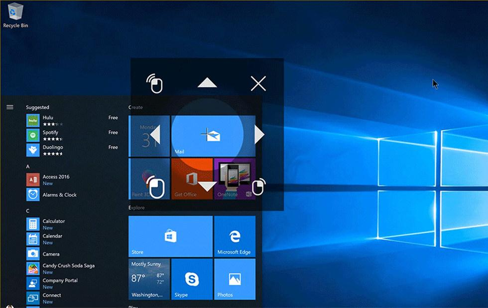 Windows 10 preview gets Eye Control: here's what it can do
