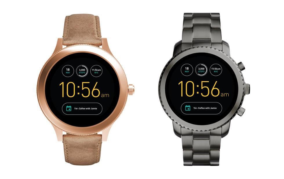 Fossil Q Venture, Q Explorist bring their round faces to market