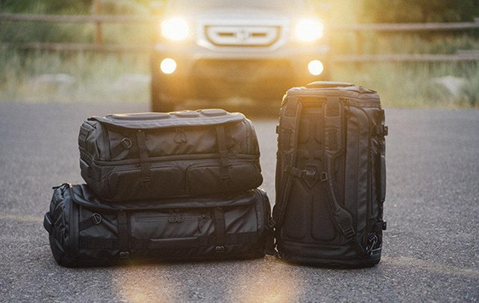 HEXAD Carryall Duffel is a traveler's bestfriend