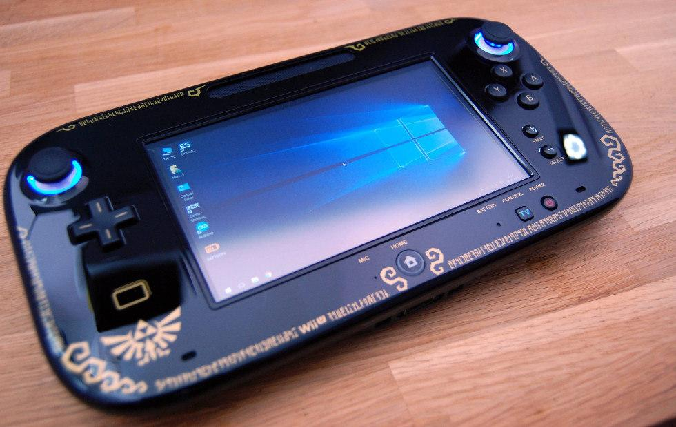 Wii U Compustick mod puts Windows 10 inside a handheld