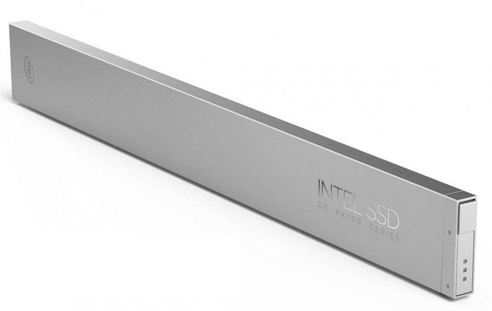 Intel Ruler SSD squeezes 300,000 movies into a single rack