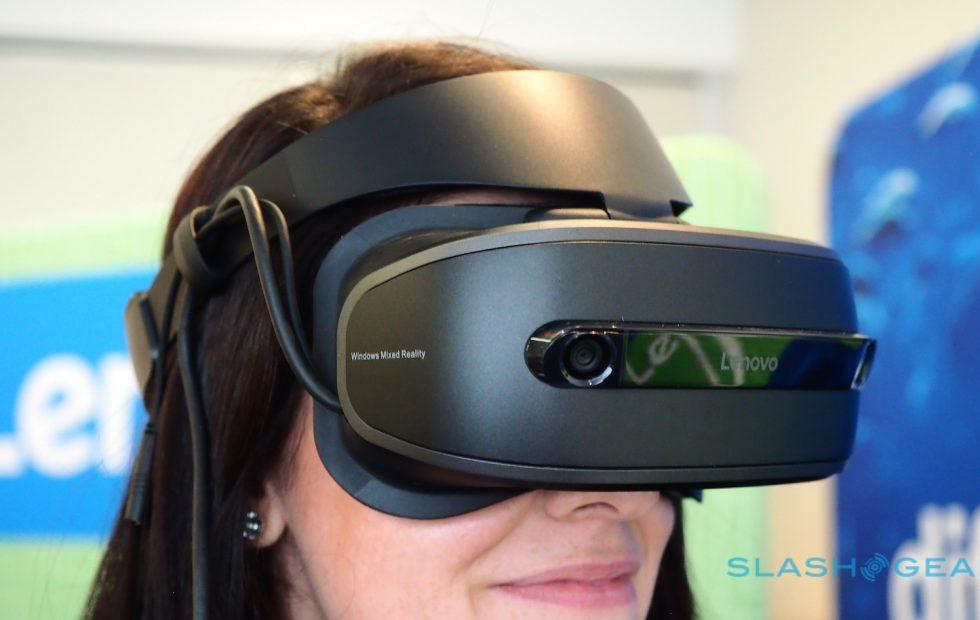 Lenovo Explorer Windows Mixed Reality headset hands-on