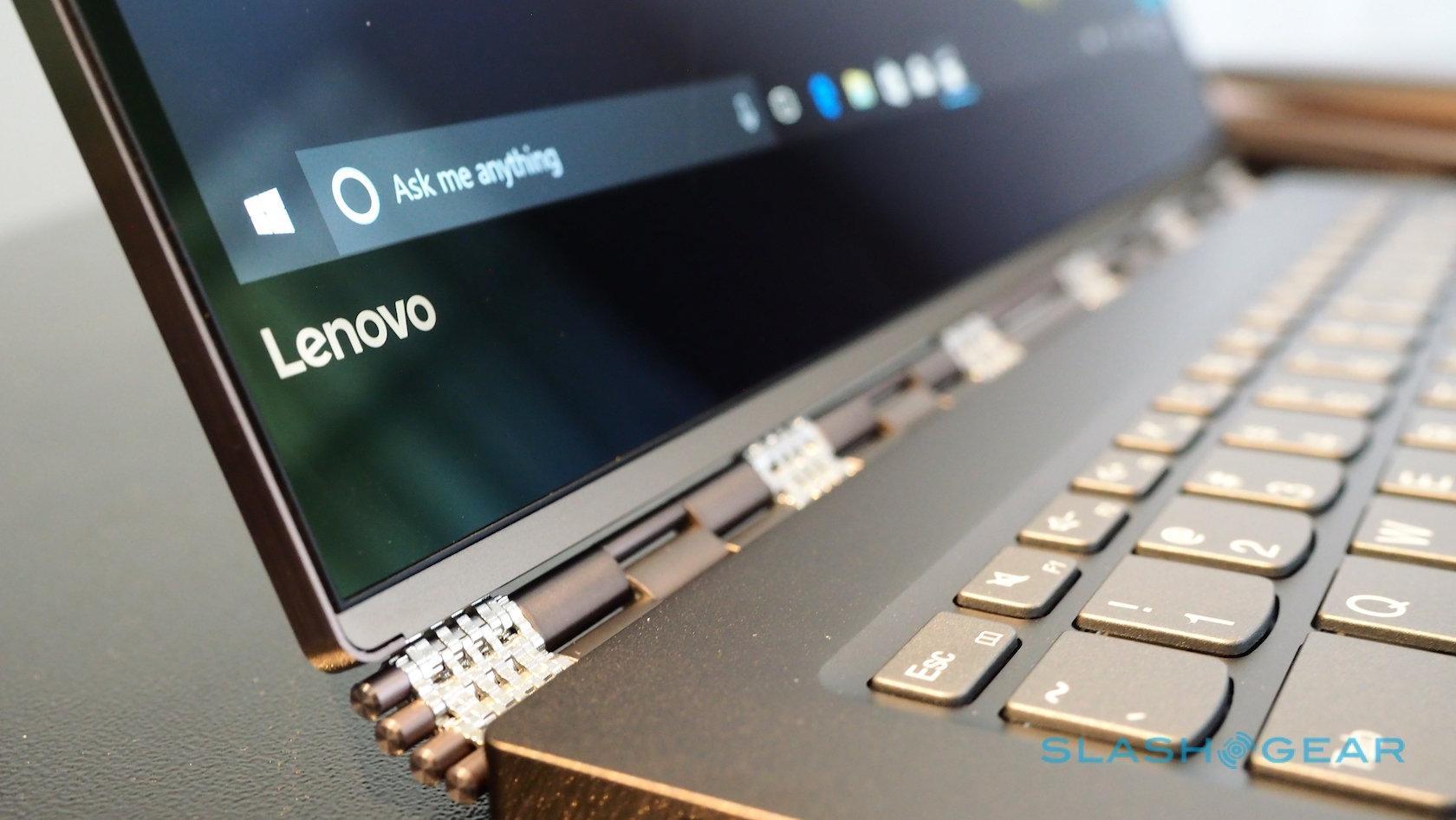 Lenovo Yoga 920 hands-on: Thunderbolt 3, 8th Gen Core i7, more