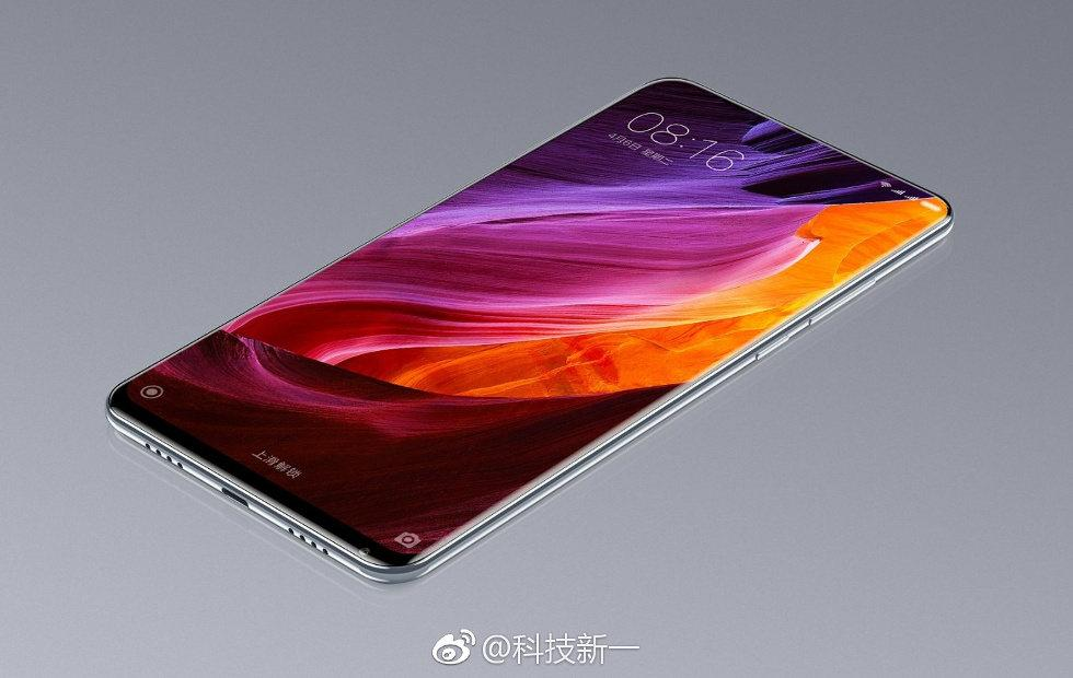 Xiaomi Mi Mix 2 bezels might actually be all gone