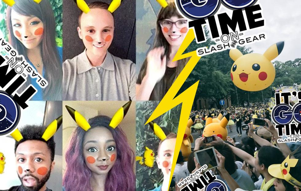 Pikachu Snapchat filter released as OUTBREAK hits Japan and Pokemon GO