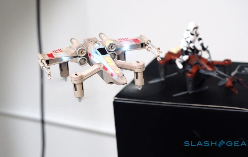 Propel's Star Wars drones put a laser battle in your living room