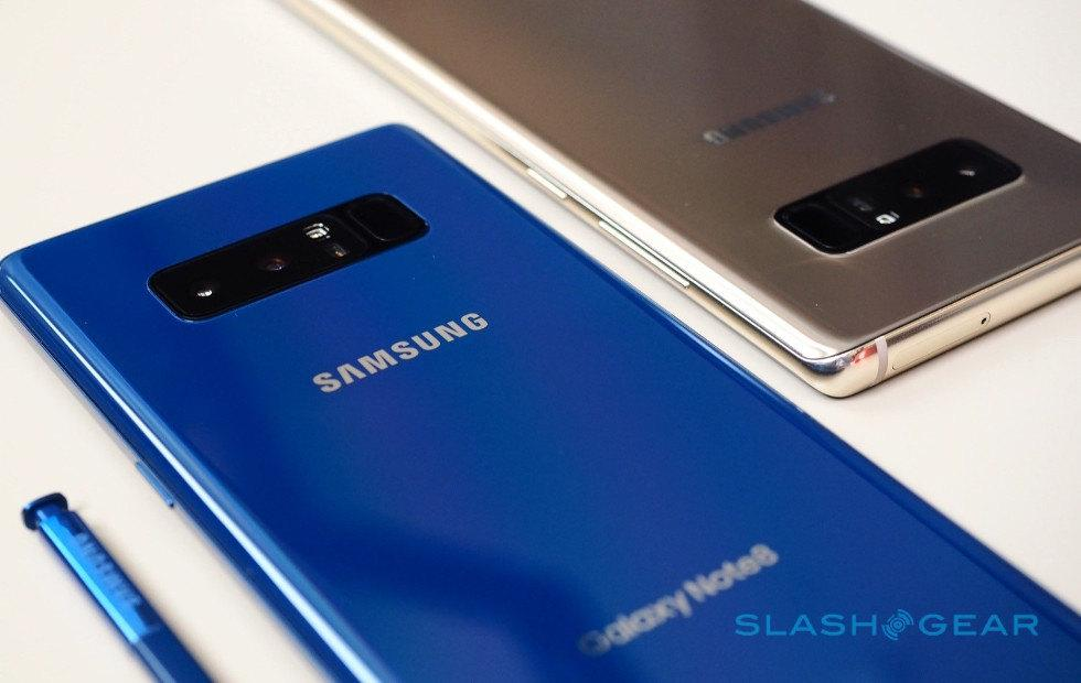Samsung mobile chief defends Galaxy Note 8's smaller battery