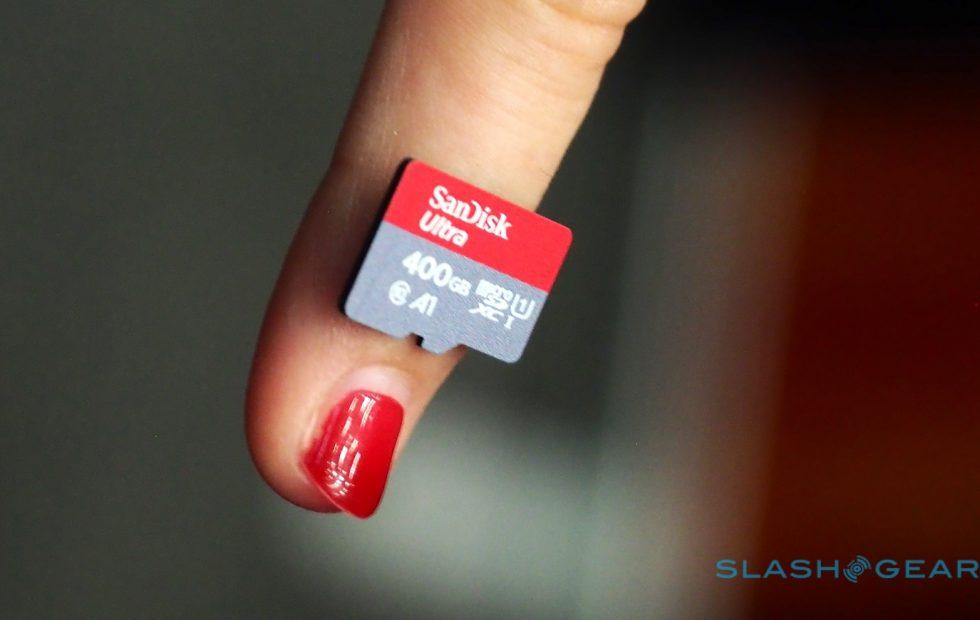 SanDisk's 400GB microSD is surprisingly affordable