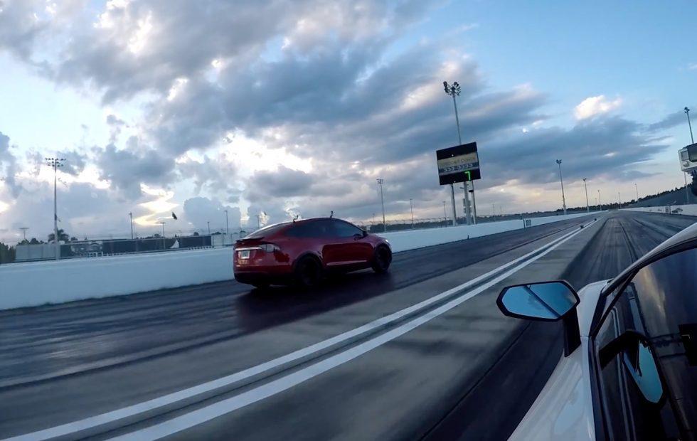 This Tesla Vs Lamborghini Race Is Deeply Satisfying Slashgear