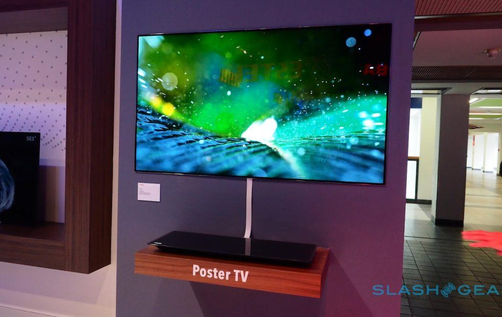 """Toshiba's Wall Art TV is another """"so thin it's crazy"""" set"""