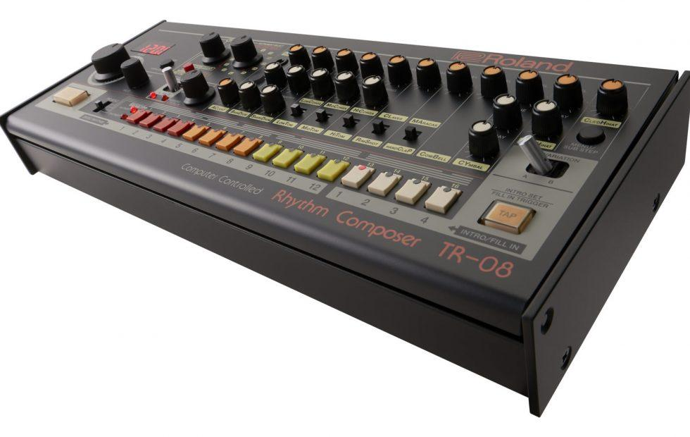 Roland TR-808 and SH-101 rebooted with modern upgrades