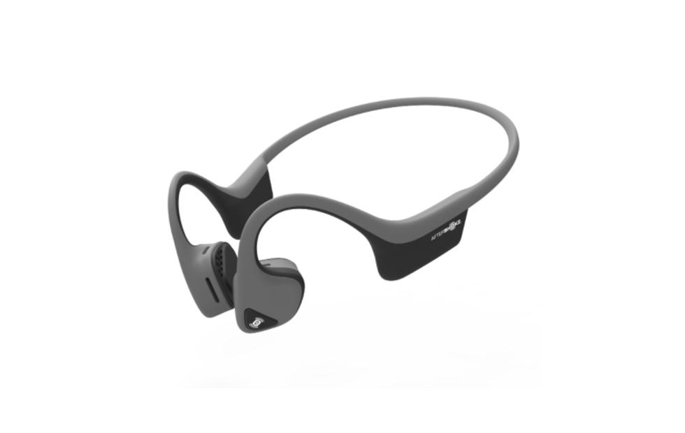 Aftershokz Trekz Air bone conduction headphones leave your ears exposed