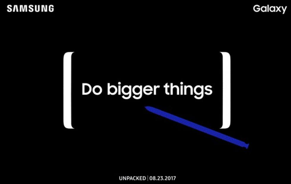 Galaxy Note 8 launch date has been tipped