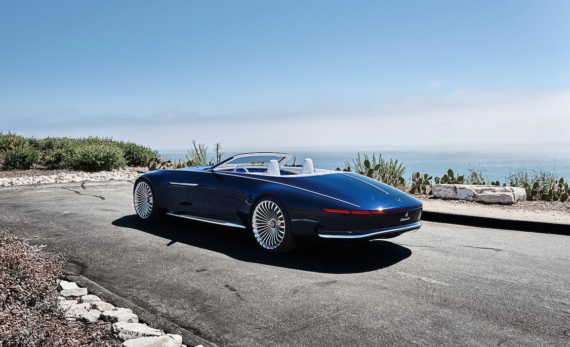 Vision Mercedes Maybach 6 Cabriolet Is 20 Feet Of Electric Drop Top