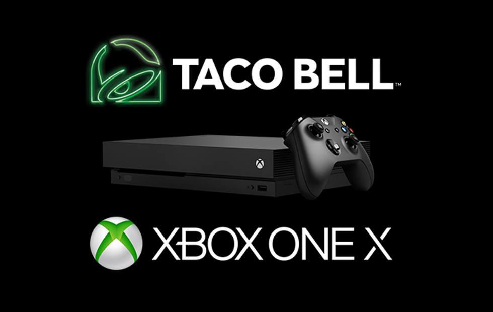 Xbox One X bundles arrive at Taco Bell as special meal prizes
