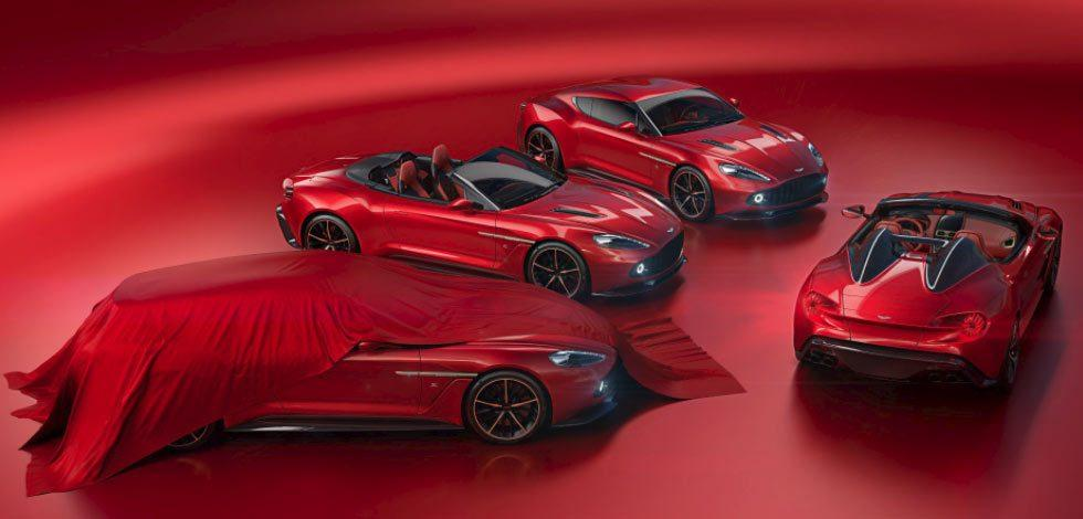 Aston Martin Vanquish Zagatos Speedster and Shooting Brake bring the sexy
