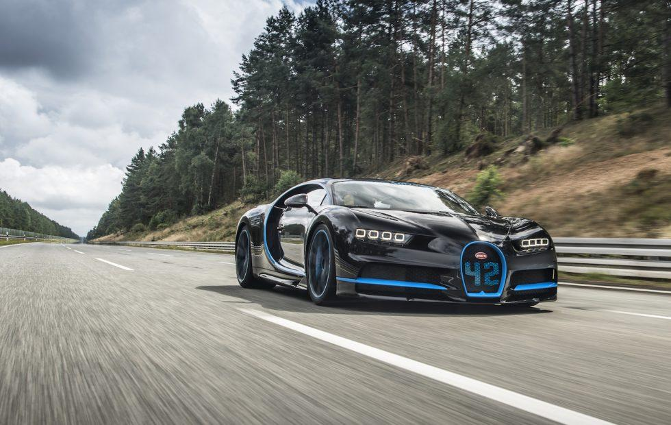 The Bugatti Chiron just smashed an incredible speed record