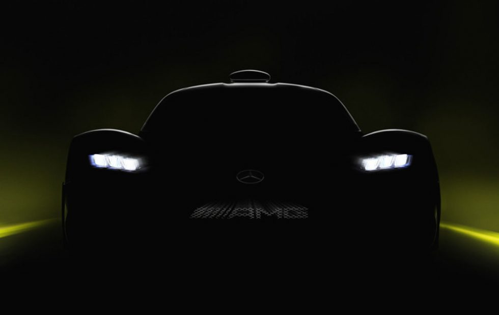 Mercedes teases AMG Project One, its 1,000HP hybrid F1 supercar