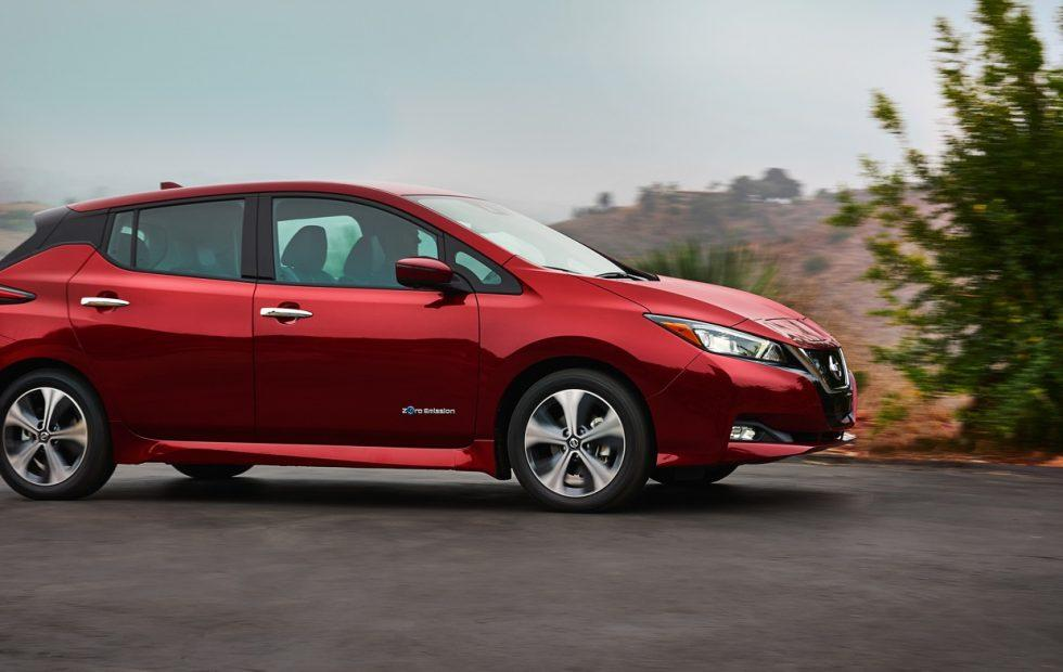 2018 Nissan Leaf Gallery