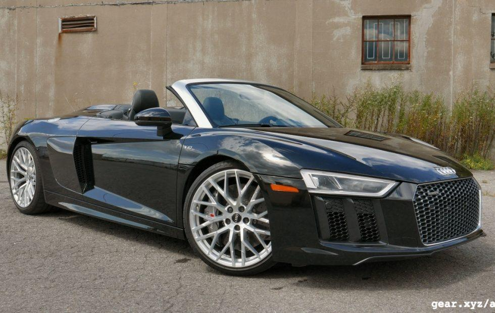 2017 Audi R8 Spyder Review: Almost no compromises