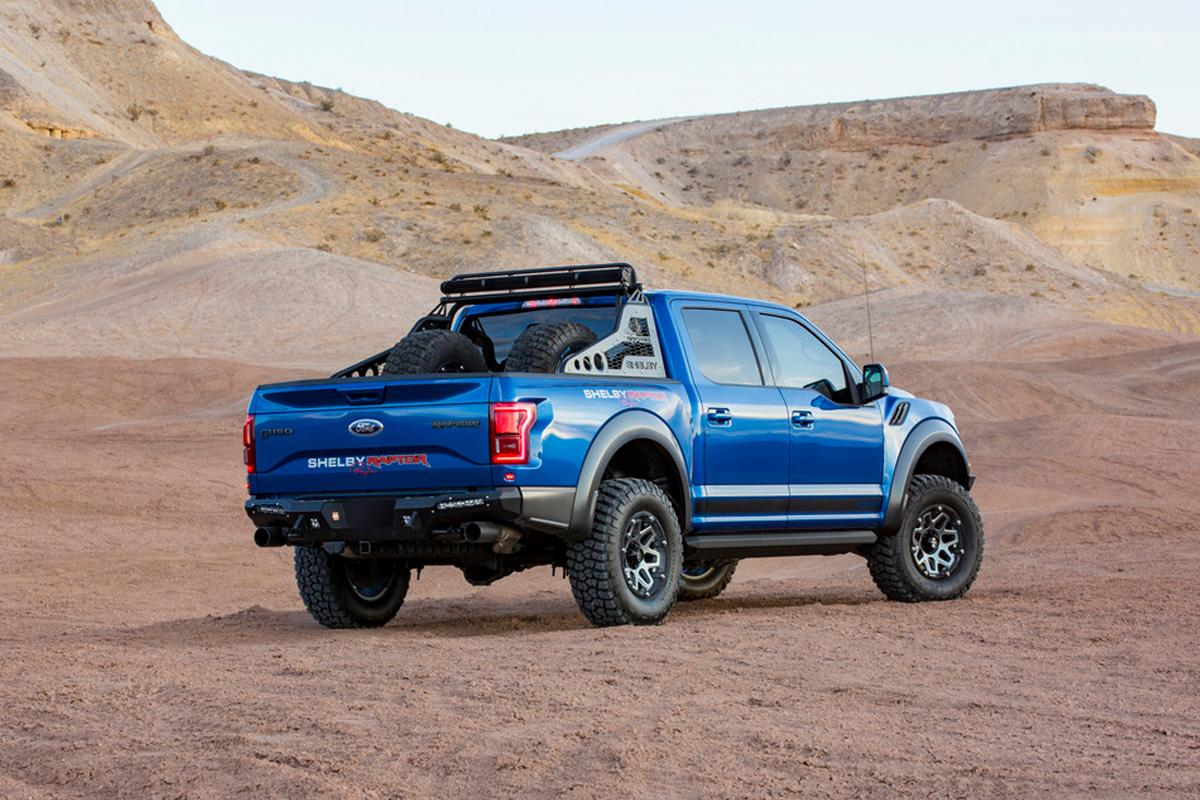 Shelby Raptor 2017 >> 2018 Shelby Raptor Announced With 75 More Horsepower And 500