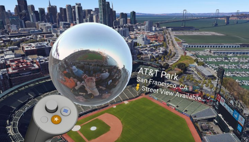 Google Street View joins Earth VR on Oculus Rift and HTC VIVE