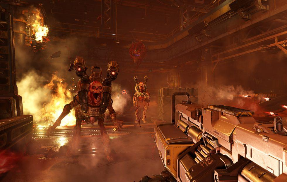 Doom on Nintendo Switch is retro-revival done right