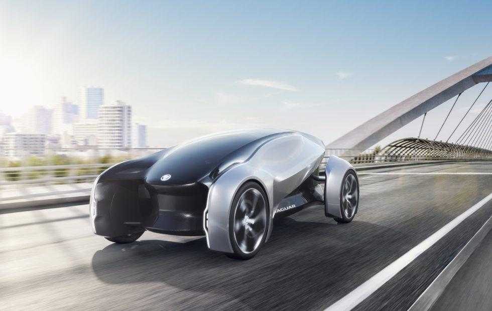 Jaguar FUTURE-TYPE Concept previews 2040's shared self-driving EV