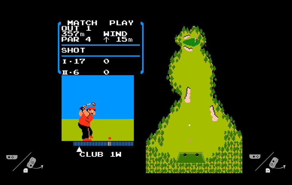 "Nintendo Switch's hidden ""flog"" emulator hides full NES Golf"