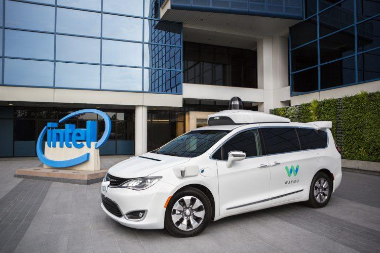 Intel and Waymo just made a self-driving car behemoth