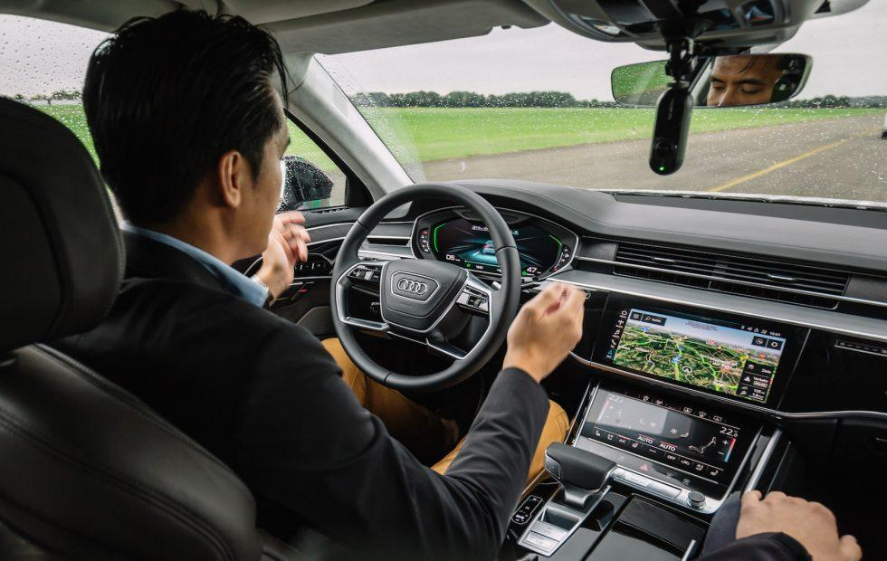 2019 Audi A8 Level 3 autonomy first-drive: Chasing the perfect 'jam'