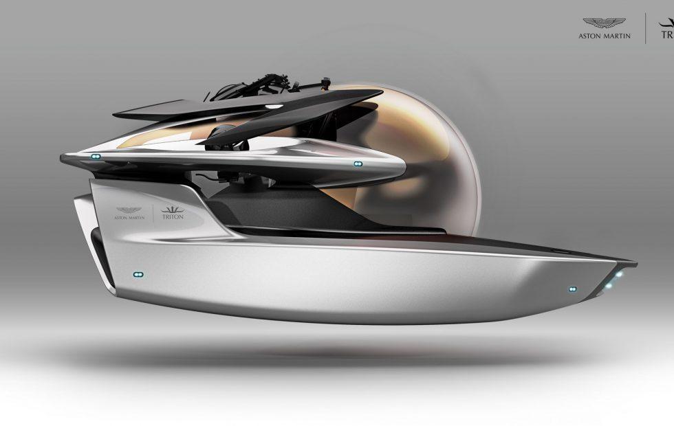 Aston Martin's next luxury vehicle is a submarine