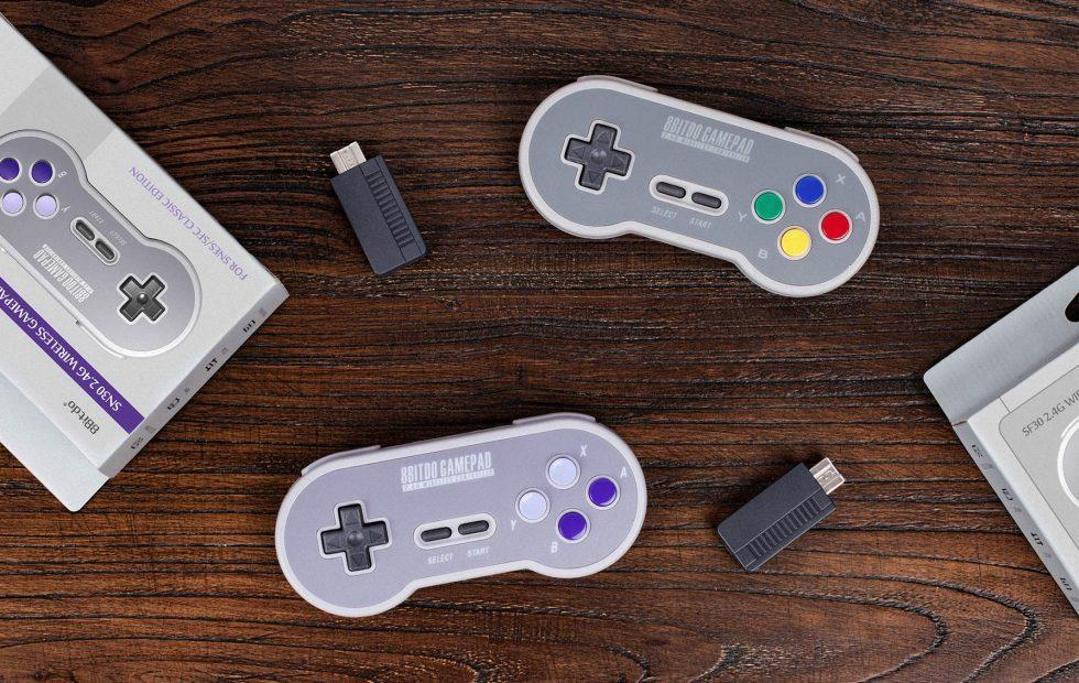 SNES Classic Edition goes wireless with 8bitdo's SN30 controller