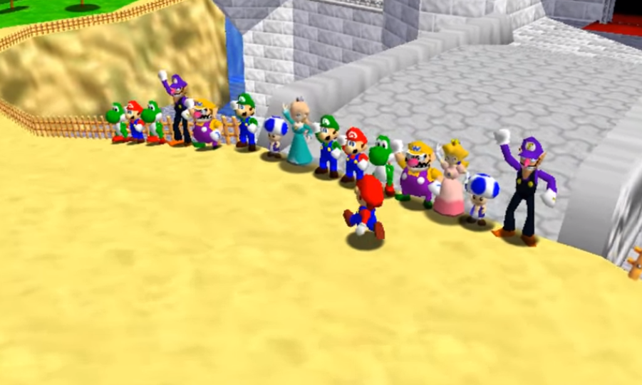 Super Mario 64 mod unleashes a multiplayer frenzy