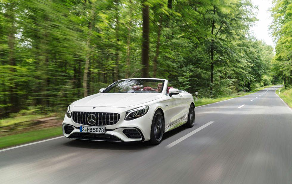 Mercedes-AMG S 63 4MATIC+ Coupe and Cabrio Debut