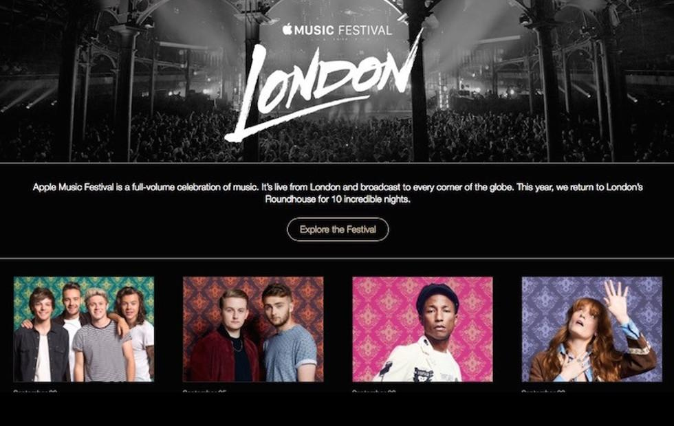 Apple Music Festival in London is no more