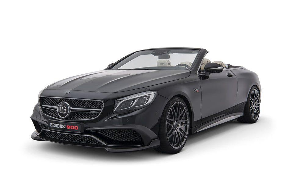 Brabus Rocket 900 Cabrio is the world's fastest convertible