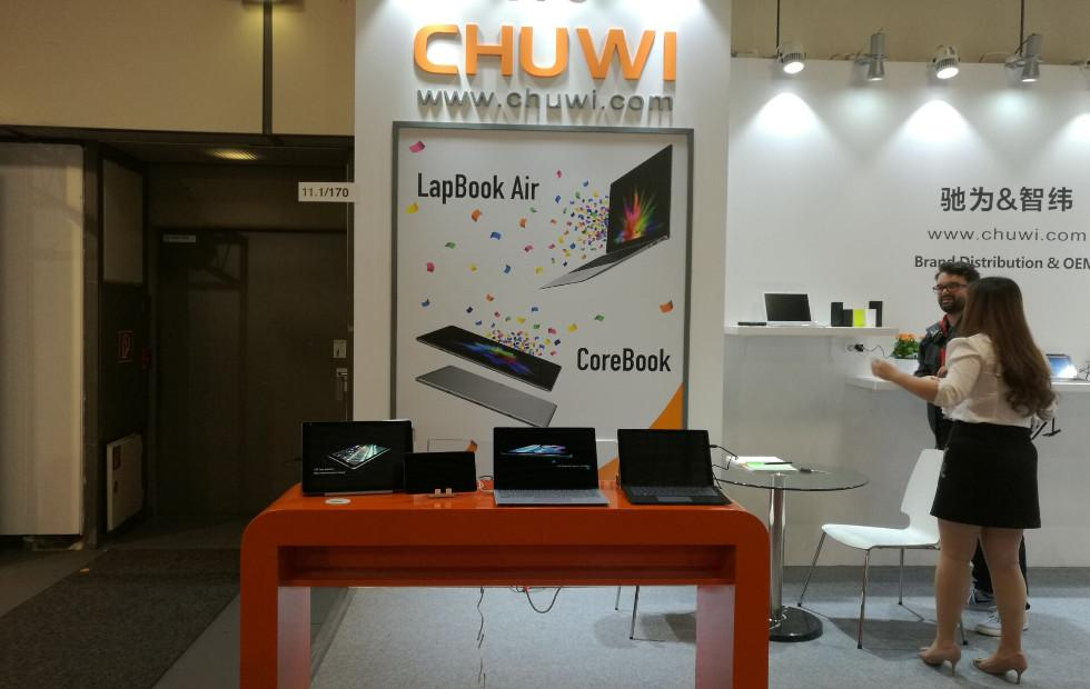 Chuwi LapBook Air, Hi9 Tablet, SurBook entice IFA 2017 crowd