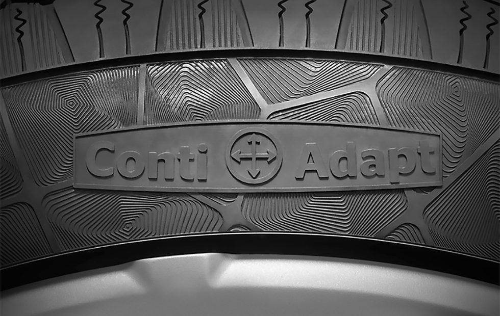Continental concept tires uses conductive rubber to warn drivers of damage