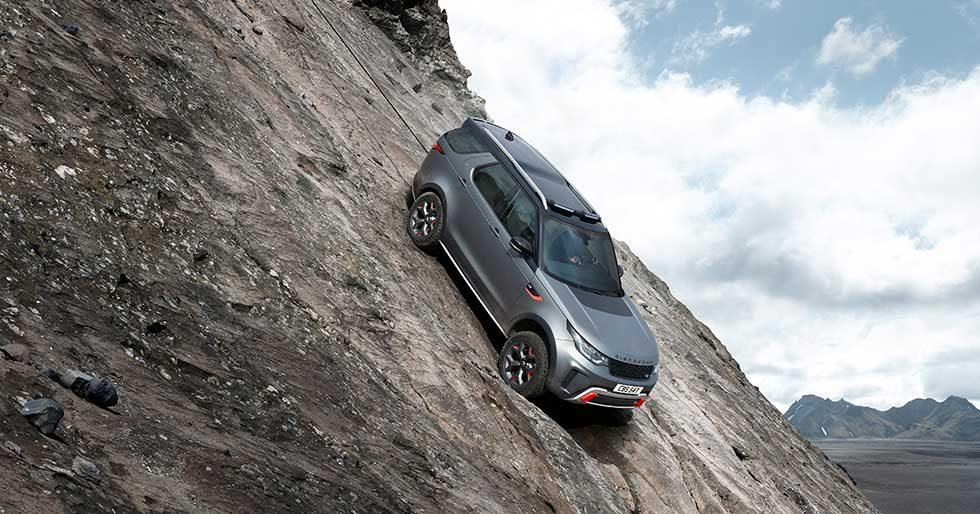 Land Rover Discovery SVX aims at off-road enthusiasts