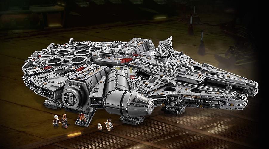 New Millennium Falcon is LEGO's biggest set ever
