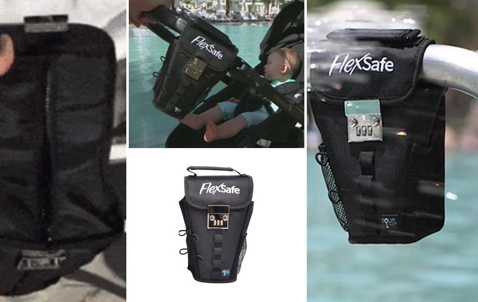 FlexSafe kept my smartphone safe at the beach