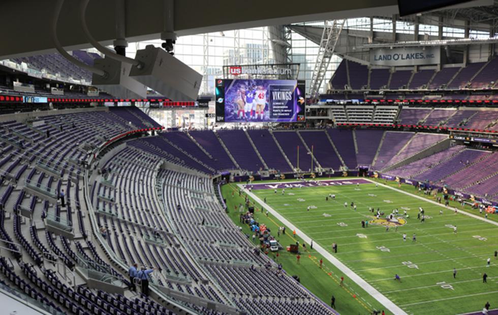 Intel installs fleet of 5K UHD cameras in 11 NFL stadiums