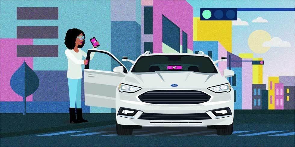 Ford and Lyft team on autonomous cars with the goal of going mainstream