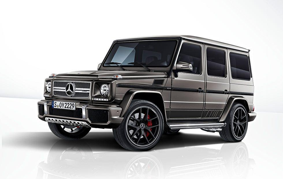 Mercedes-AMG G 63 and G 65 Exclusive Editions debut with sexy matte grey color