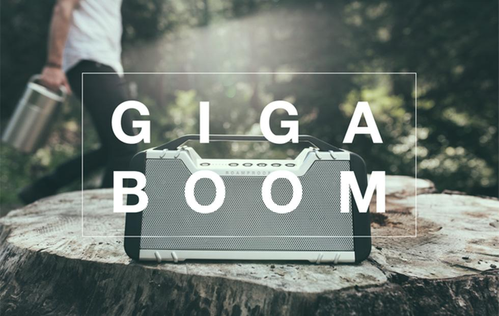 Gigaboom ultra-rugged Bluetooth speaker is bulletproof and crushproof