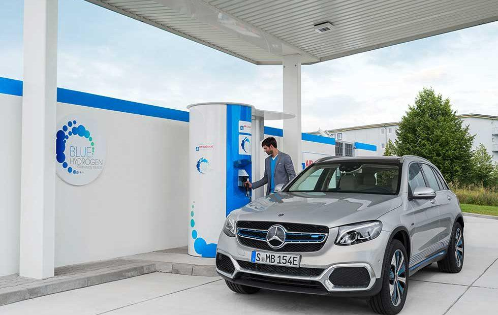 Mercedes GLC F-Cell has electric and hydrogen power