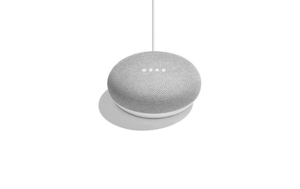 Google Home Mini – the same, but smaller
